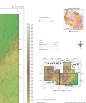 QDS 071 SHAMBARAI: Digital Elevation Model