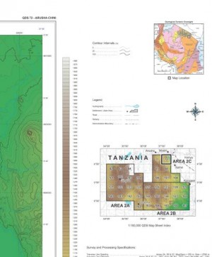 QDS 072: Digital Elevation Model